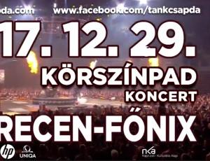 12.29. DEBRECEN – FŐNIX CSARNOK!